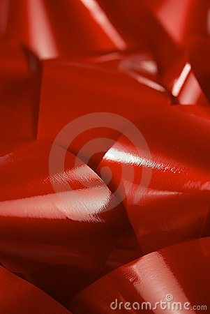 Pile of Red Ribbon or Bows