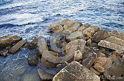 Rocks at Sea