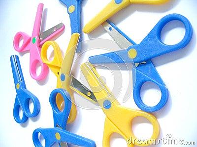 Pile of scissors