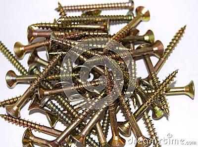 Pile of screws