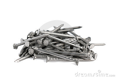 Pile of small nails