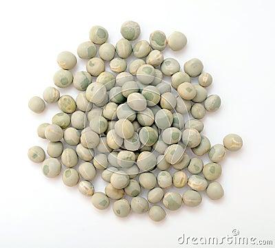 A pile of whole green pea