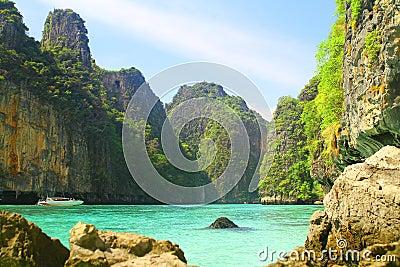 Pileh Bay on Koh Phi Phi Le Island - Thailand