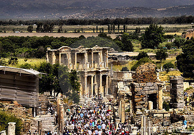 Pilgramage To Ephesus Turkey Royalty Free Stock Images - Image: 11723829