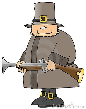 Pilgrim With A Blunderbuss