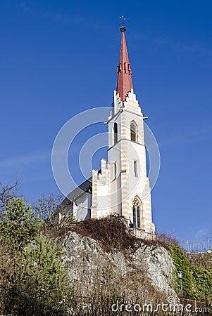 Free Pilgrim Church Mary At `Locherboden` Royalty Free Stock Image - 83618366