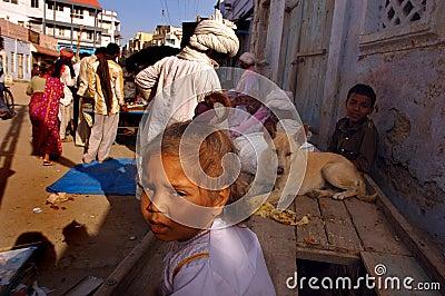 Pilgrim in Gujarat Editorial Photo