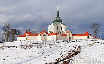 Pilgrimage church zelena hora
