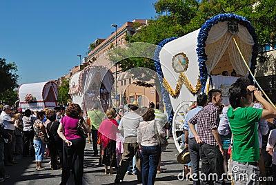 Pilgrimage El Rocio Editorial Photography