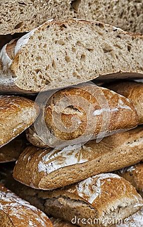 Pilha de pães