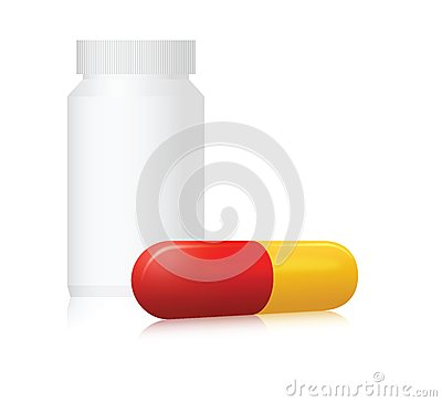 Pill bottle and capsule