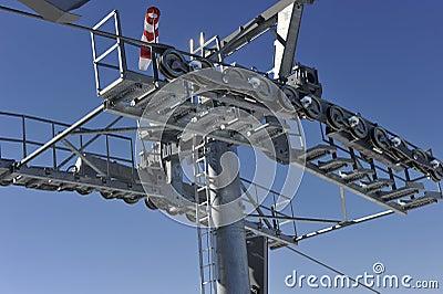 Pillar of a Cable Car