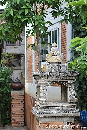 Pillar decoration