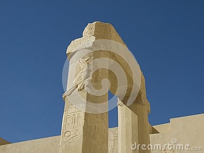 Pillar at Hatshepsut Temple