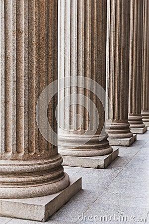 Free Pillars Royalty Free Stock Photography - 23508437