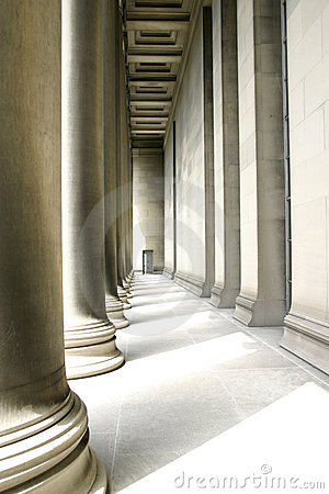 Free Pillars In Soft Lighting Stock Photo - 314270