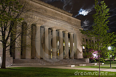 Pillars and the Moon