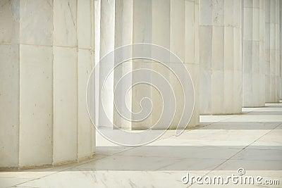 Pillars in a Row