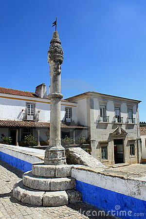 Pillory in Obidos