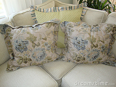 Pillows on a Couch/Sofa