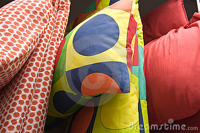 Pillows and quilts