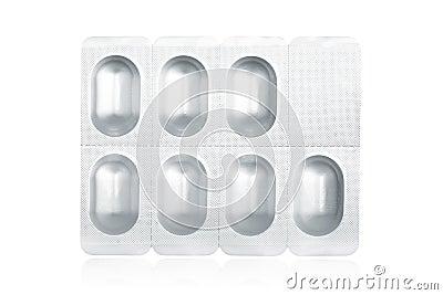 Pills on blister pack