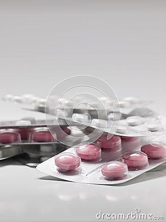 Pills in the blisterpacks