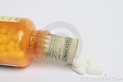 Pills and dollar