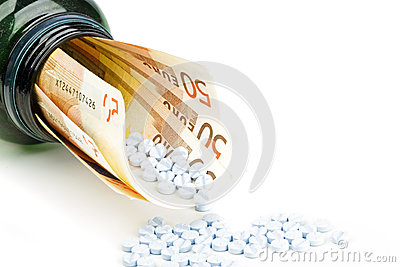 Pills and euro money
