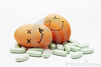 Pills Get Eggs Stoned
