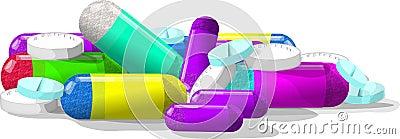 Pills, pills & more pills