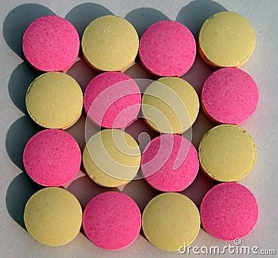 Pills texture