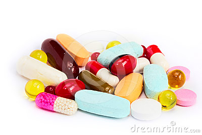 Pills vitamin supplement