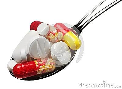 Pillule de médecine