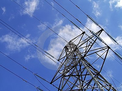 Pilón/torre de la electricidad