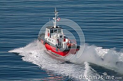 Pilot Boat In Victoria