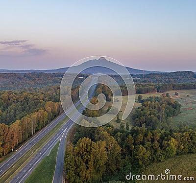 Free Pilot Mountain Stock Image - 100475311