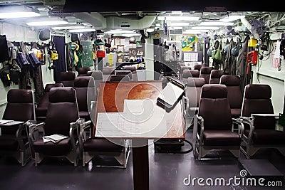 Pilot Ready Room Editorial Photo