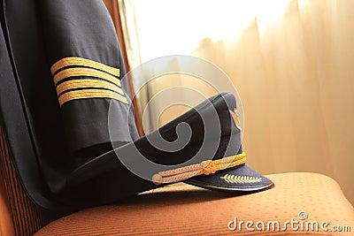 Pilota o uniforme