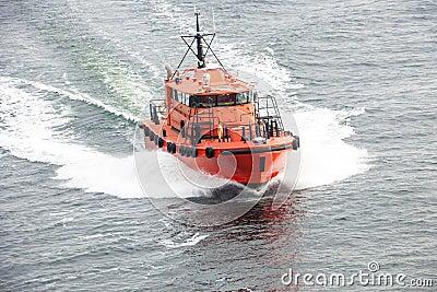 Pilotowa łódź