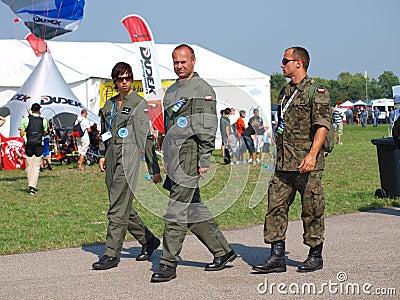 Pilots, Radom, Poland Editorial Image