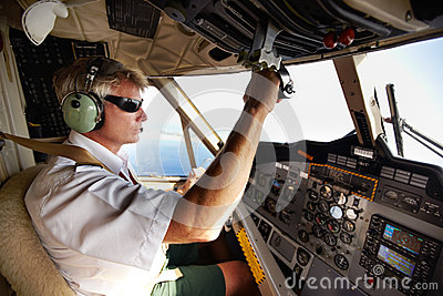 This pilots under control