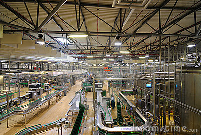 Pilsner Urquell Bottling Plant Editorial Photo