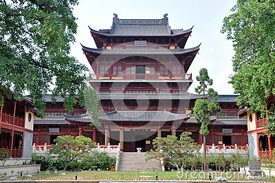 Pilu Temple, Nanjing