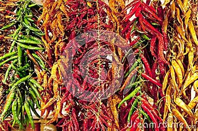 Pimienta en mercado