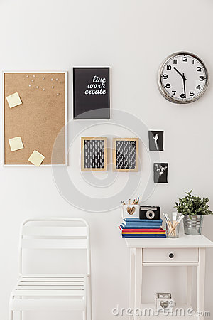 Free Pin Board In Study Space Stock Images - 55226604