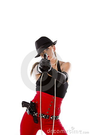 Pin up Gangster