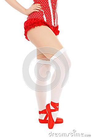 Pin-up legs