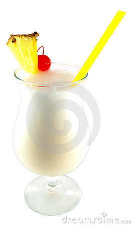 Free Pina Colada Cocktail Royalty Free Stock Photography - 20953677