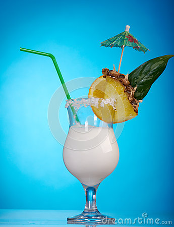 Pina Colada - Cocktail with Cream